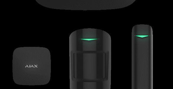 Sistem de alarma wireless Ajax, 868/915 MHz, 2000 m, pet immunity